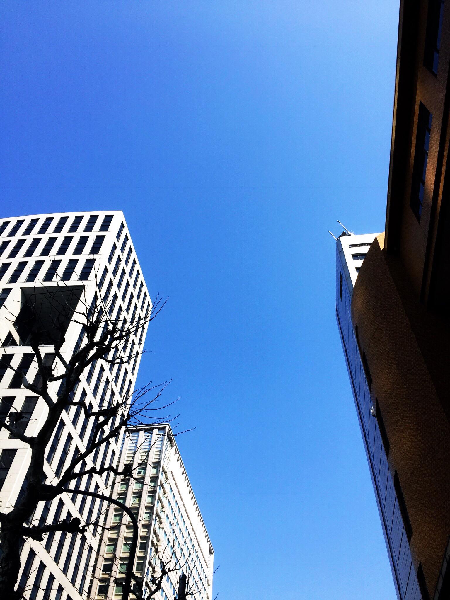 青空のこの日